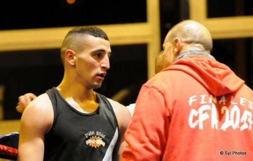 Samy Khellas en combat